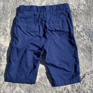 H&M Bottoms - H&M organic cotton navy shorts size 5/6